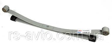 Рессора задняя Ford Connect, Форд Конект 02- (к-кт 2-x листовая) (60, 662, 593) 2T145560ER0019 Z/T