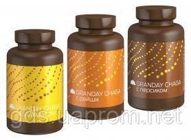 Granday Chaga Proactive, концентрат на основе чаги, в наборе 3 вида по 45 таблеток
