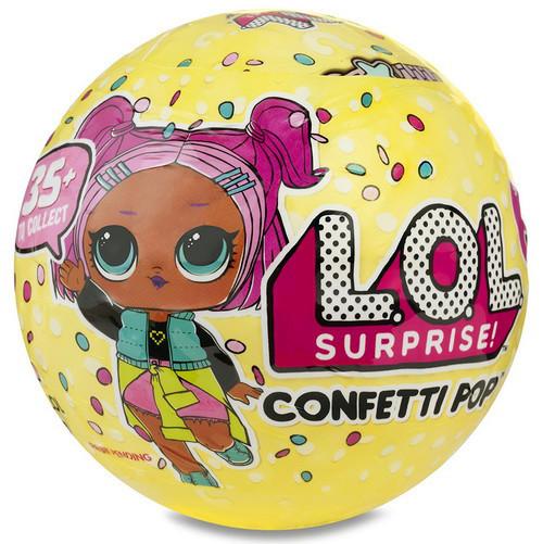 Кукла L.O.L. Шар ЛОЛ Surprise confetti конфети игровой набор реплика