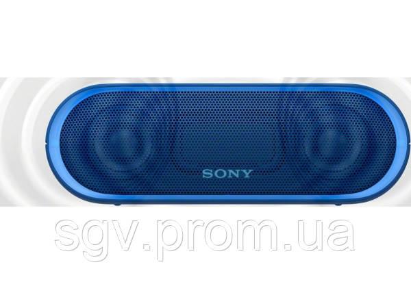 Портативная акустика Sony SRS-XB20 Blue (Extra Bass)