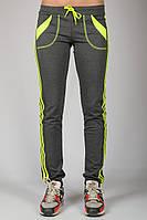 Спортивные штаны женские  Стрелки (серый)
