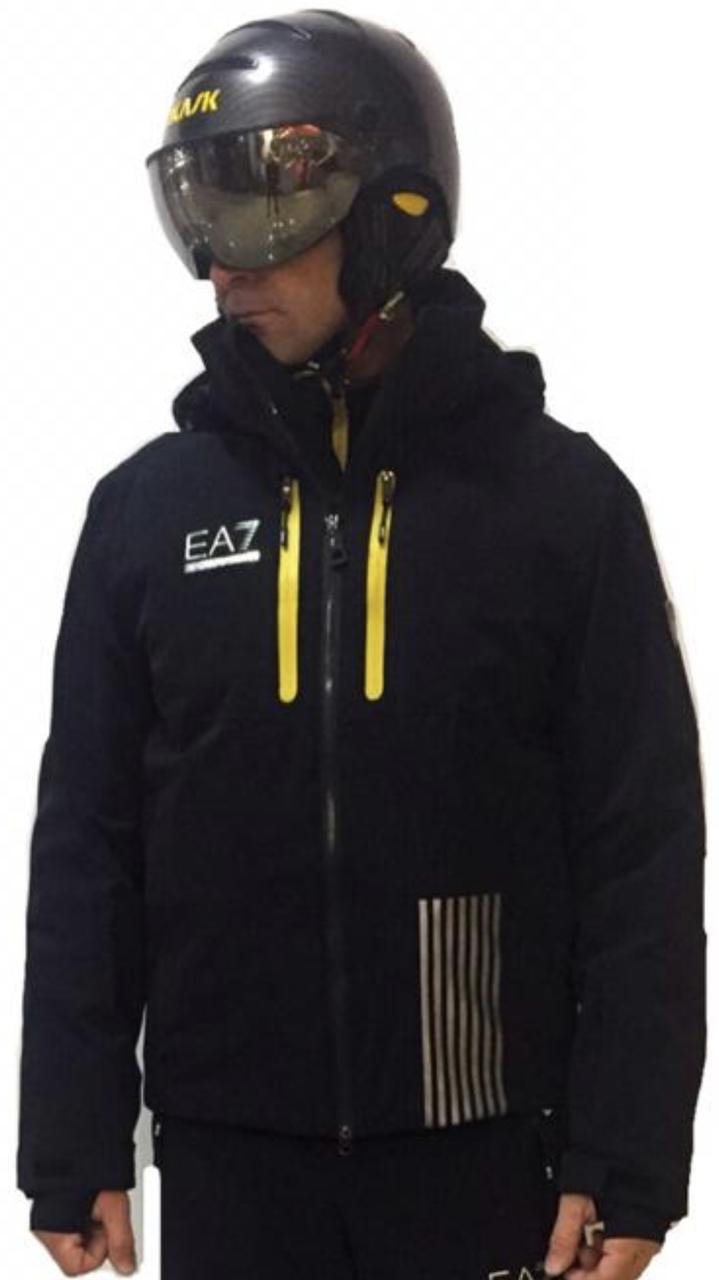 Горнолыжная куртка Emporio Armani EA7  Ski M Big Logo 7 Lines