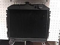 Радиатор охлаждения ГАЗ 24 (3-х рядный медный) (производство Иран)