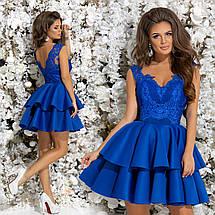 Гипюровое платье из неопрена , фото 3