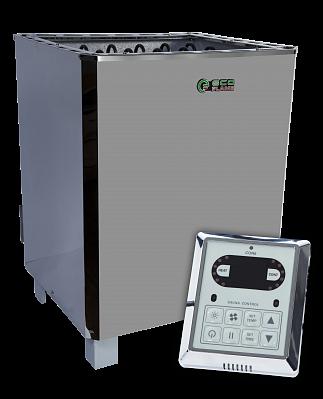 Электрокаменка для сауны и бани EcoFlame SAM D-12 12 кВт + пульт CON6