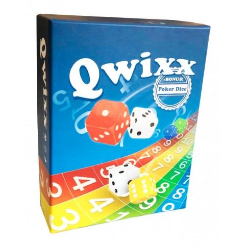 Настольная игра Qwixx + Poker Dice (Квикс)