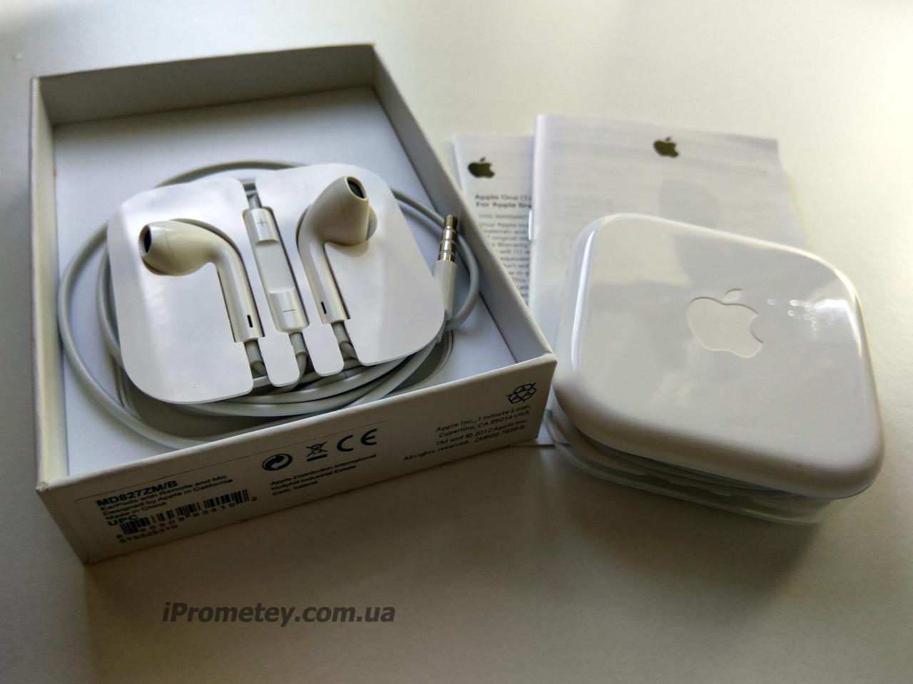 ОРИГИНАЛЬНЫЕ EarPods Apple MD827ZM B НАУШНИКИ Гарнитура для на к iPhone 6s  ... 4e67884dac169