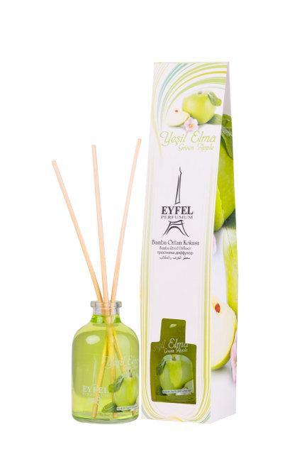 Аромадиффузор Eyfel парфюм для дома Зелёное яблоко 55 мл