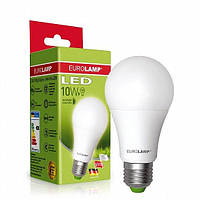 EUROELECTRIC LED Лампа A60 10W E27 4000K (100)