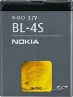 Аккумуляторная батарея Nokia BL-4S (оригинал).Аксессуары для мобильных телефонов.АКБ.