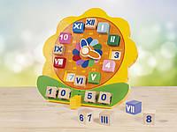 Детские деревянные развивающие часы Playtive Junior