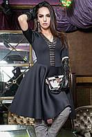 """Платье """"Клеопатра"""" с клешеным низом, неопрен (разные цвета), фото 1"""