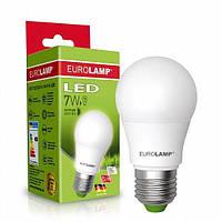 EUROELECTRIC LED Лампа A60 7W E27 4000K (100)