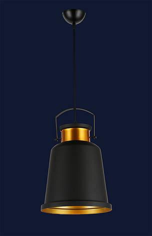 Светильник подвесной в современном стиле LV black&gold, фото 2