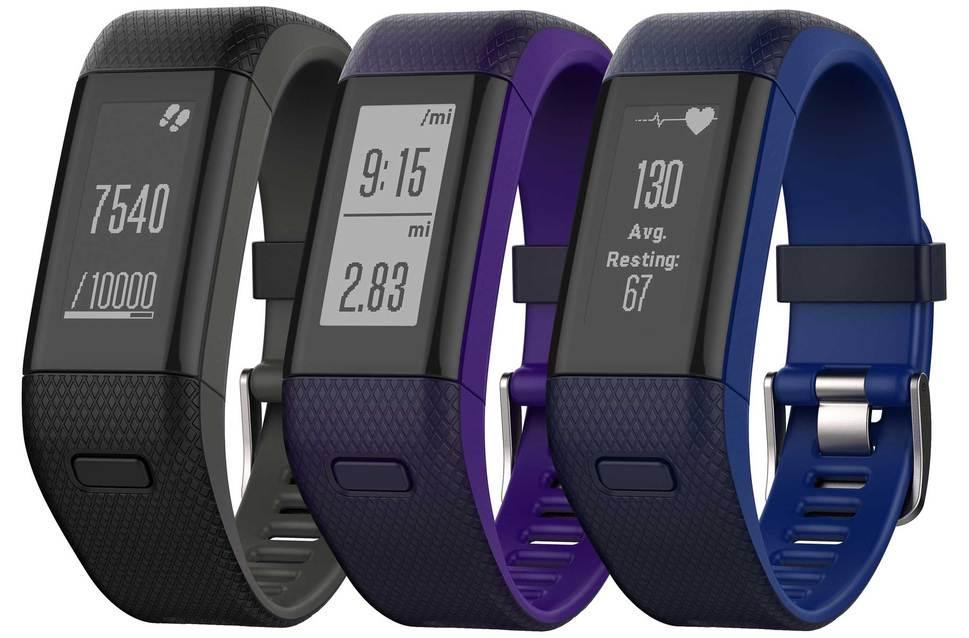 Фитнес браслет Garmin vivosmart HR+GPS