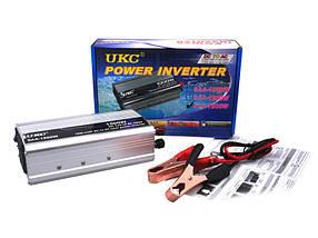 Преобразователь UKC 12V-220V 1500W автомобильный инвертор sp1882, КОД: 161745