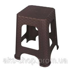 Табурет плетеный Elif Plastik 421-3 коричневый