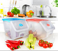Контейнер для овощей прозрачный Irak Plastik SA-960