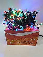 Новогодняя гирлянда Штора 200 ламп Цветная