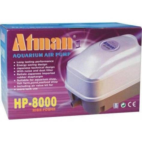 Компрессор Atman Hp-8000, 70л/мин , фото 2