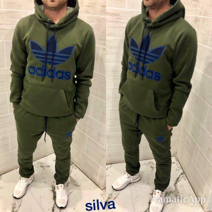 Зимний мужской костюм adidas