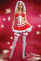 Сексуальний новорічний костюм LITTLE MISS CHRISTMAS, фото 1