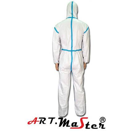 Защитный комбинезон  ARTMAS белого цвета COVE Micro typ 4, фото 2