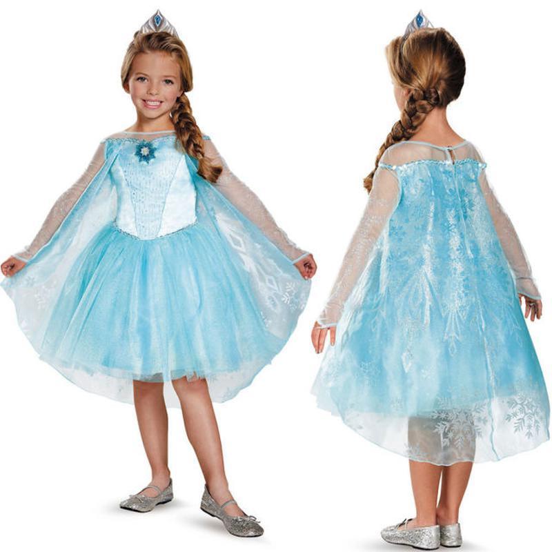 Костюм принцесса Эльза 4-6 лет