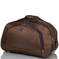Дорожная сумка маленькая на 2-х колесах RUIXINGDA TU123S-brown