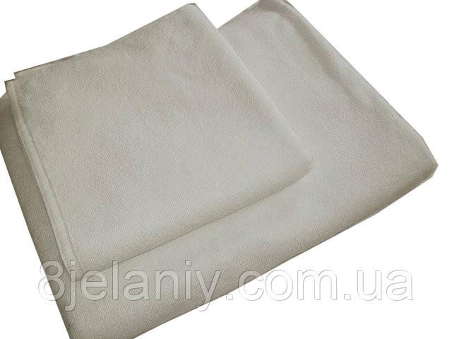 """Махровое полотенце белое """"Отель"""" 70*140 Турция"""