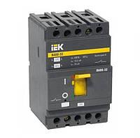 Автоматический выключатель ВА88-32 80А 3Р 25кА IEK