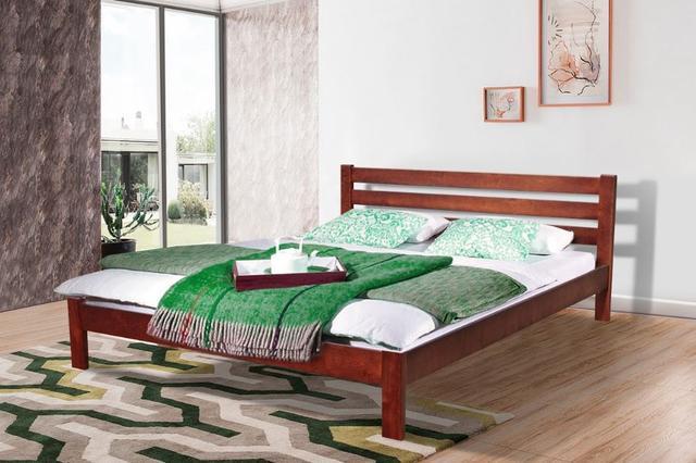 Кровать двуспальная Инсайд (каштан)