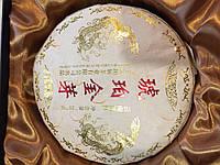 """Красный чайЦзинь Хао Дянь Хун  Фабрика """"Фэн Цин"""" «Золотые почки» в подарочной коробке"""