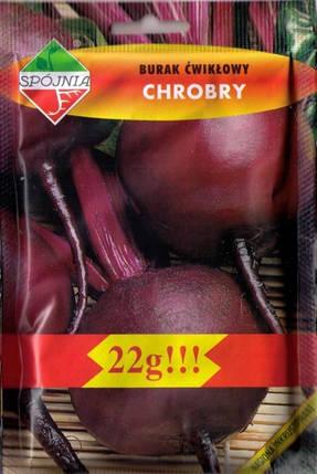 Польські насіння буряків Хоробра 22г, фото 2