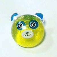 Лизун желе Панда, мал. желтый, фото 1