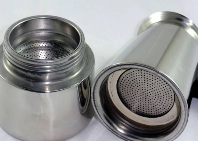 Гейзерная кофеварка из нержавеющей стали  WimpeX Wx 6040 Эспрессо CG16 PR3, фото 2
