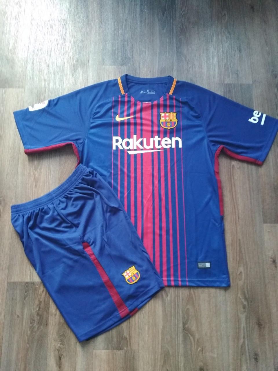 Футбольная форма Барселона сезон 2017-2018 основная гранатовая (XL)  Распродажа 27208b49083
