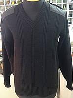 Свитер форменный чёрный под рубашку
