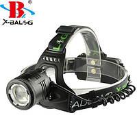 Налобный фонарик Bailong Police  BL-2177-T6,  фонарик тактический на лоб, фото 1