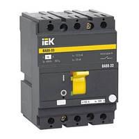 Автоматический выключатель ВА88-33 80А 3Р 35кА IEK