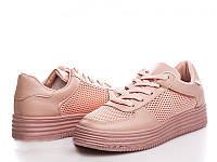"""Летние женские кроссовки """"Nets"""" персиковый, 23 см"""