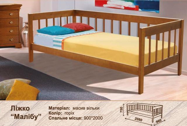 Кровать детская Малибу характеристики