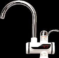 Кран мгновенного нагрева воды Delimano проточный водонагреватель БЕЗ душа
