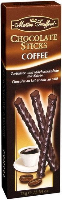 Шоколад с кофе Maitre Truffout Chocolate Sticks Coffee