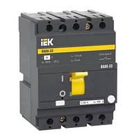 Автоматический выключатель ВА88-33 160А 3Р 35кА IEK