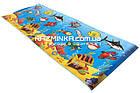 Детский игровой коврик Морское дно 135х50cм, толщина 5мм, фото 5