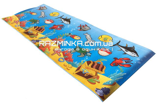 Детский игровой коврик Морское дно, каремат