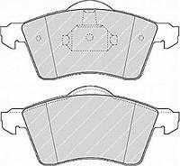 Колодки тормозные передние размер колесного диска 15 дюймов VW T4, 2.4-2.5D/2.8 VR6 98- RIDER