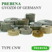 Гвоздь столярный для пневмопистолета тип — CNW (PREBENA)