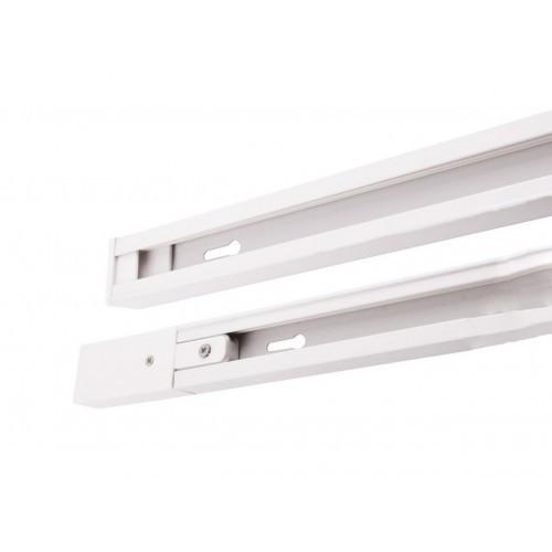 Направляющая рейка 1,5м LEDMAX 1-PHS-1,5MB белая